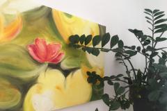 Bild mit Pflanze