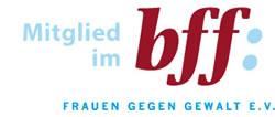 Logo: Mitglied im bff: Frauen gegen Gewalt e.V.