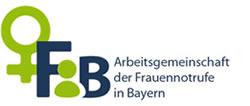 Logo: FiB Arbeitsgemeinschaft der Frauennotrufe in Bayern