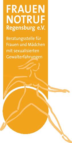 Logo: Frauennotruf Regensburg e.V. - Beratungsstelle für Frauen und Mädchen mit sexualisierten Gewalterfahrungen